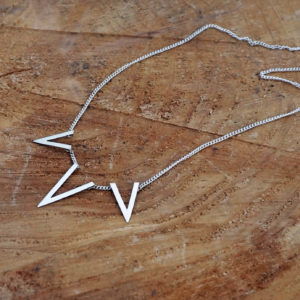 Triangle Pointed Necklace