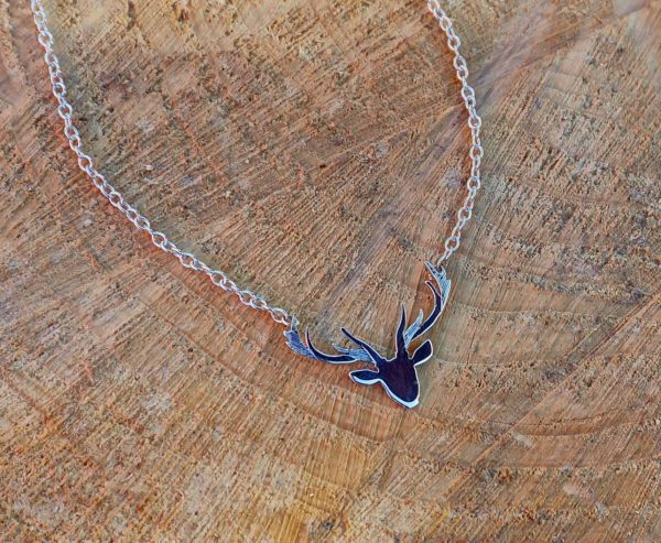 Stag Necklace Stag Head Necklace