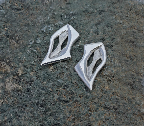 Statement cut out earrings caverns earrings statement cut out