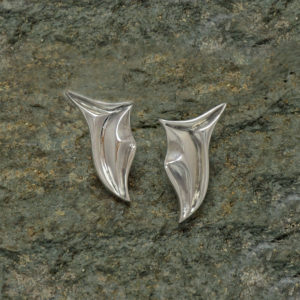 Glacier Earrings glacier sculptural spike drop earrings