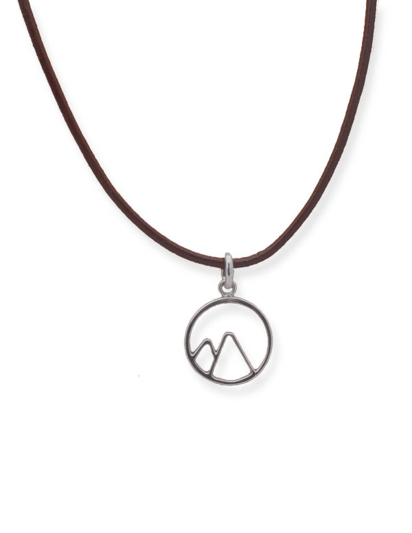 Circular Mountain Pendant
