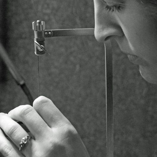Park Road Jewellery, Minimalist Statement silver Necklaces