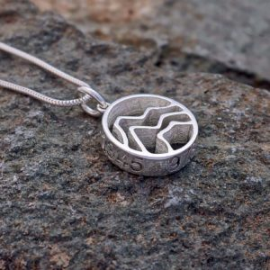 Three Peaks Mountain Challenge Pendant