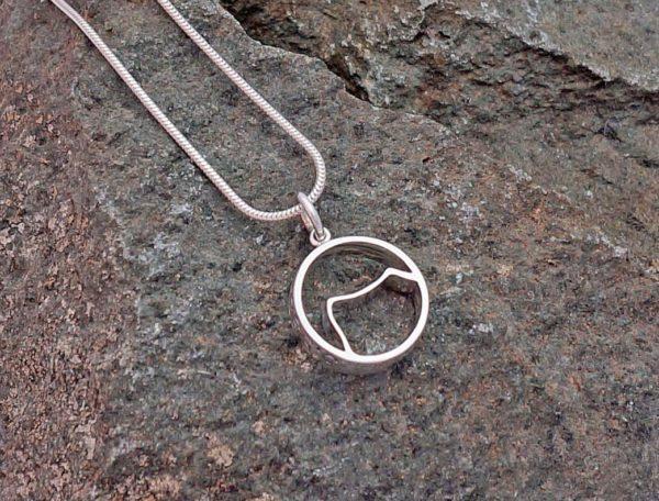 Kilimanjaro mountain pendant