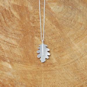 Oak Leaf Sterling Silver pendant