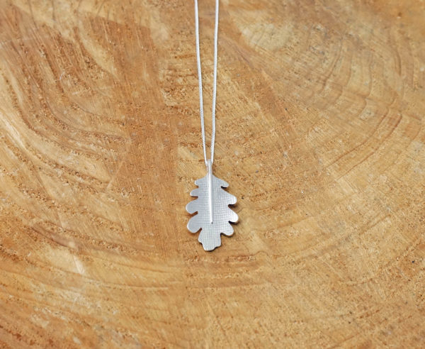 Oak Leaf Sterling Silver pendant