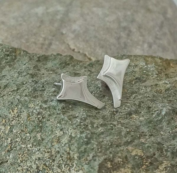 canyons statement stud earrings