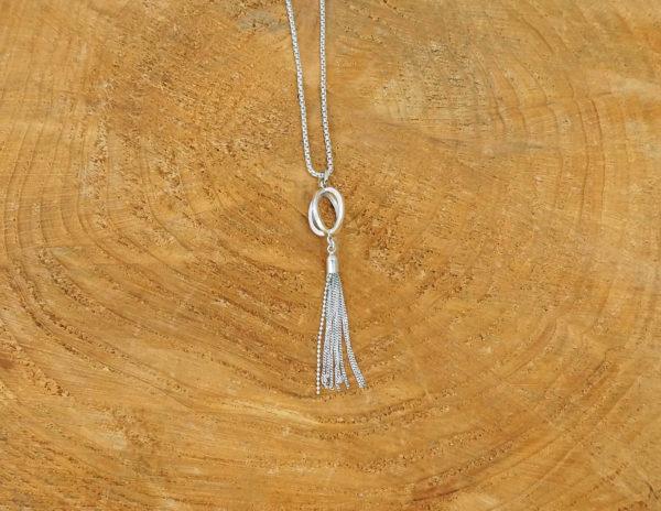 Minimalist Tassel Long Necklace