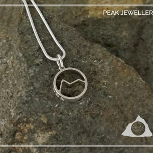 Snowdon Welsh Mountain pendant Necklace, Hiking Nature gift