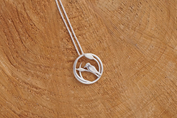 Bird necklace, Bearded tit, Reed warbler, Reed Bunting,nature necklace, bird necklace, birdwatching, nature lover gift, park road jewellery