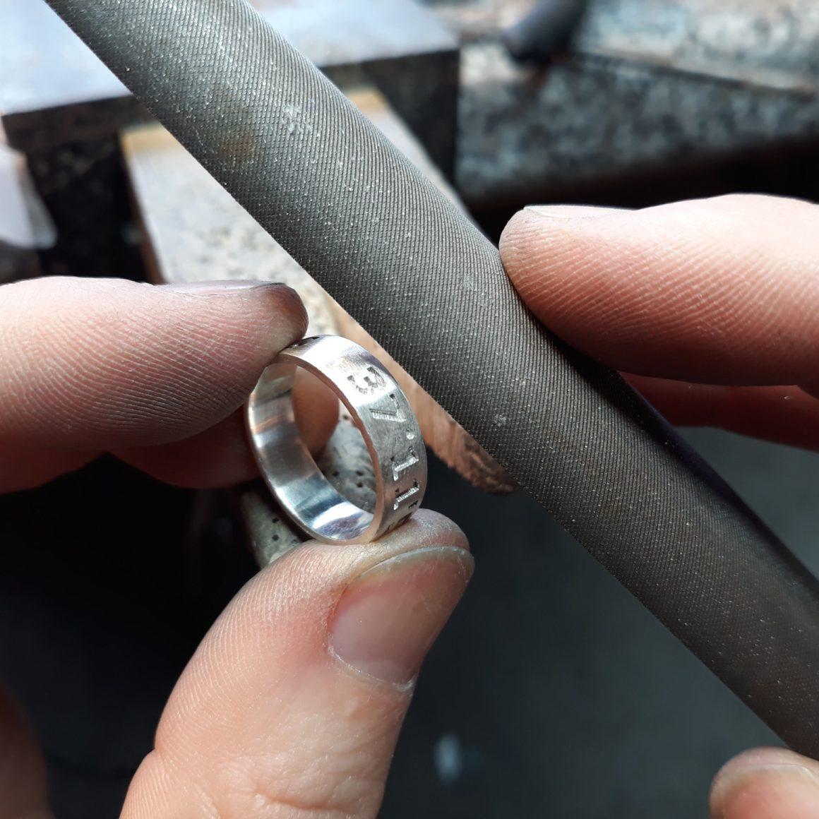 Park Road Jewellery, Bespoke Handmade Sterling Silver Bespoke Personalised Mountain Peak Pendant Jewellery