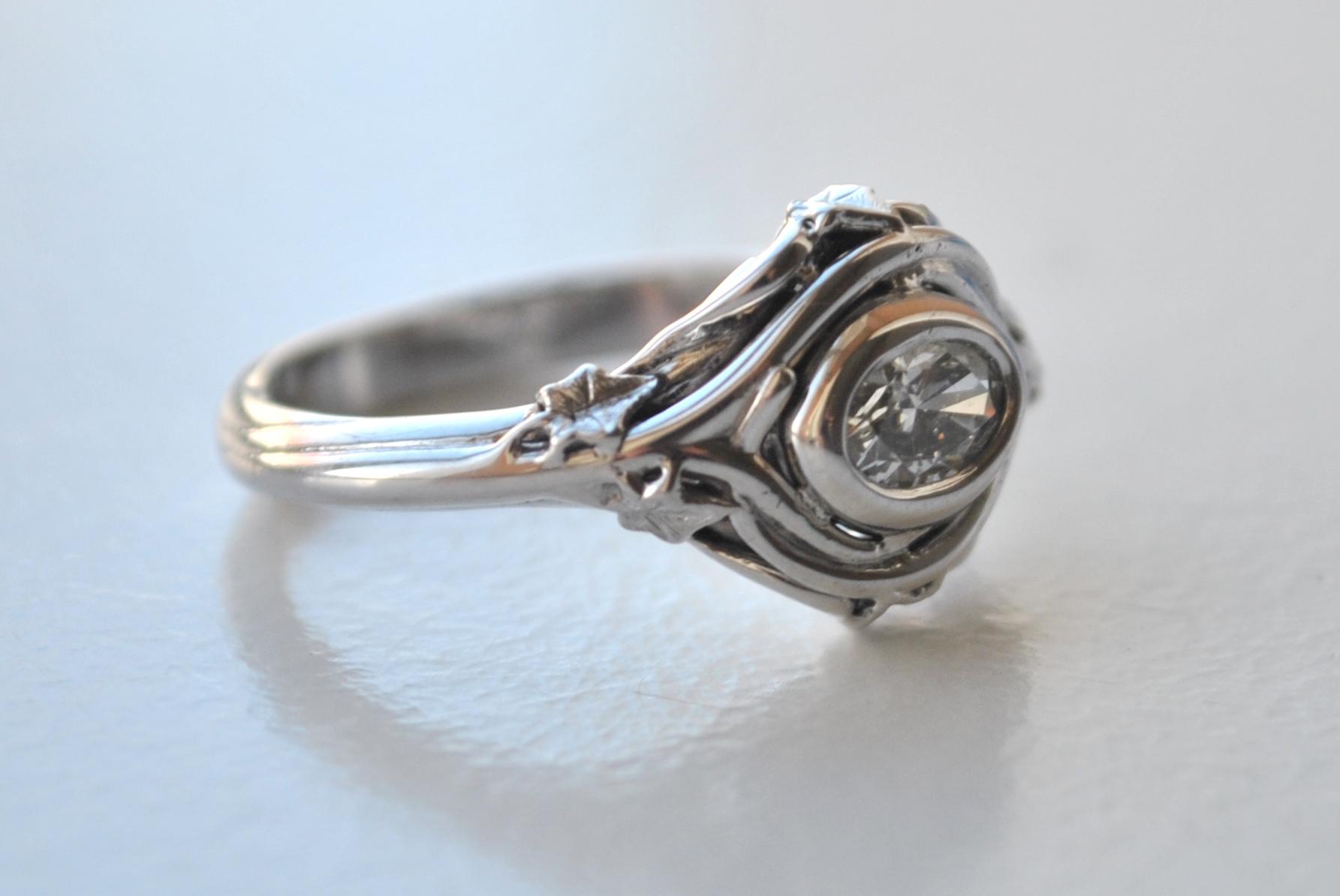 Park Road Jewellery Bespoke Diamond Engagement ring